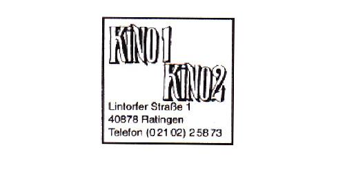 Kino 1 Kino 2 Logo Ratingen