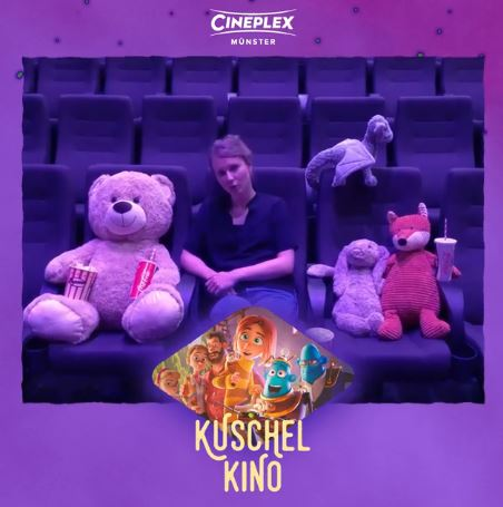 Kuschelkino Cineplex Kino für Kinder Titel