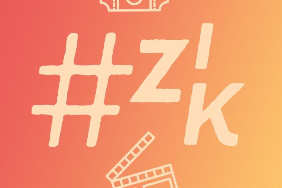 Zurück ins Kino Social Media Asset Symbole