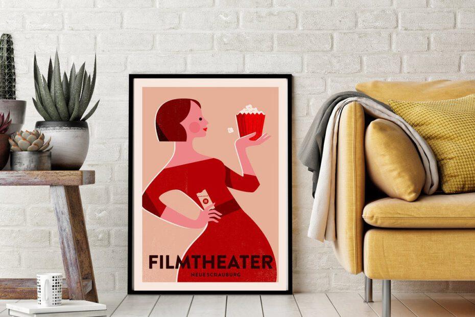 Neue Schauburg Filmtheater Poster